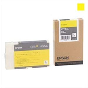(業務用3セット)EPSON(エプソン)インクカートリッジLイエローLICY54L【×3セット】【ポイント10倍】