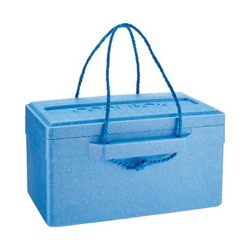 (まとめ) 石山 発泡クールボックス 18.7L ブルー TI-180P 1個 【×3セット】