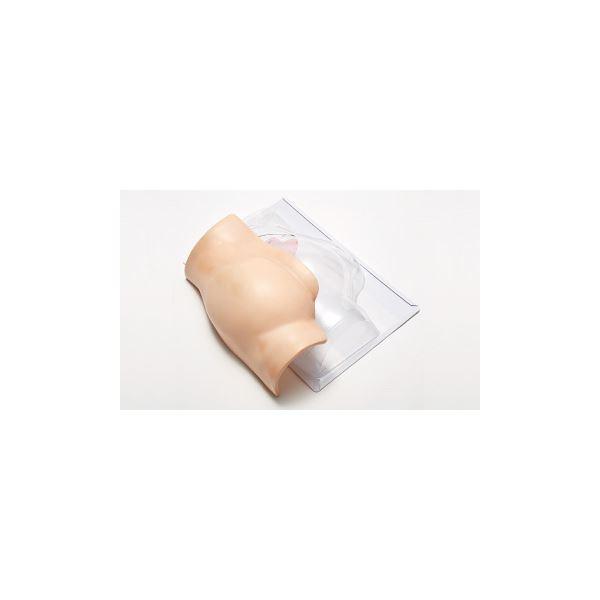 殿部筋肉内注射シミュレーター 「でんちゅうくん」 装着型 水注入可 ランプ/ブザー/収納ケース付き M-153-0【代引不可】:リコメン堂