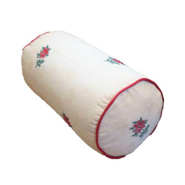 ボルスタークッション/腰枕 【15R×30cm レッド】 洗えるカバー 『オロペサ』【ポイント10倍】