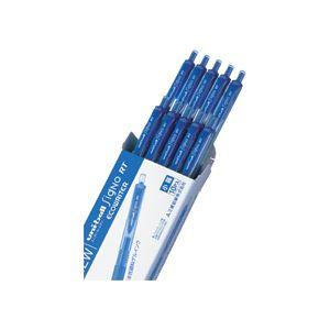 (まとめ) 三菱鉛筆 ゲルインクボールペン ユニボール シグノ RT エコライター 0.5mm 青 UMN105EW.33 1セット(10本) 【×5セット】