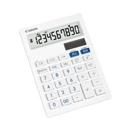(まとめ) キヤノン Canon 抗菌キレイ電卓 LS-101T SOB 10桁 中型卓上タイプ ホワイト 3441B001 1台 【×10セット】