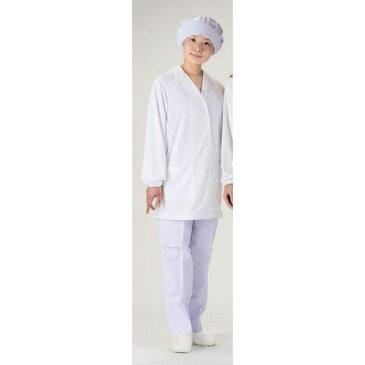 福田商店 テクノファインコート 女子襟有り長袖白衣 NR-431 M SHK4702 【ポイント10倍】