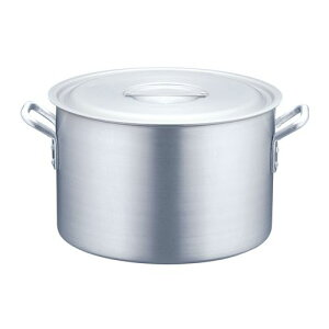 TKG半寸胴鍋アルミニウム(アルマイト加工)(目盛付)TKG45cmAHV6245【ポイント10倍】