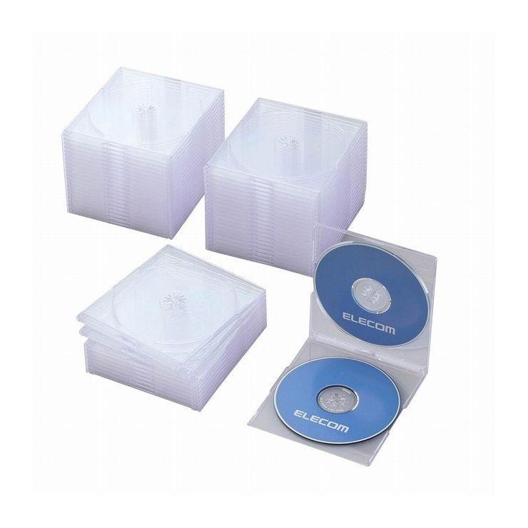 記録用メディアケース, CD・DVDケース  Blu-rayDVDCD(PS2) CCD-JSCSW50CR()10