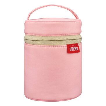 THERMOS サーモス スープジャーポーチ ライトピンク RES-001 LP スープジャーカバー 保温 保冷 背面ポケット付