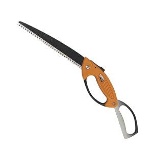 園芸道具・園芸鋸の万能NO.2050。フッ素樹脂加工で摩擦が軽減し軽い切味で剪定できます。サボテ...