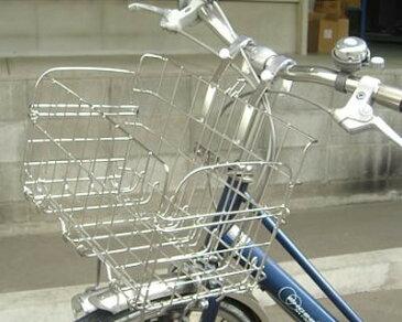 《単品》折畳み自転車用フロントバスケット SOT-20(ステンレス)[a] 【ポイント10倍】【送料無料】