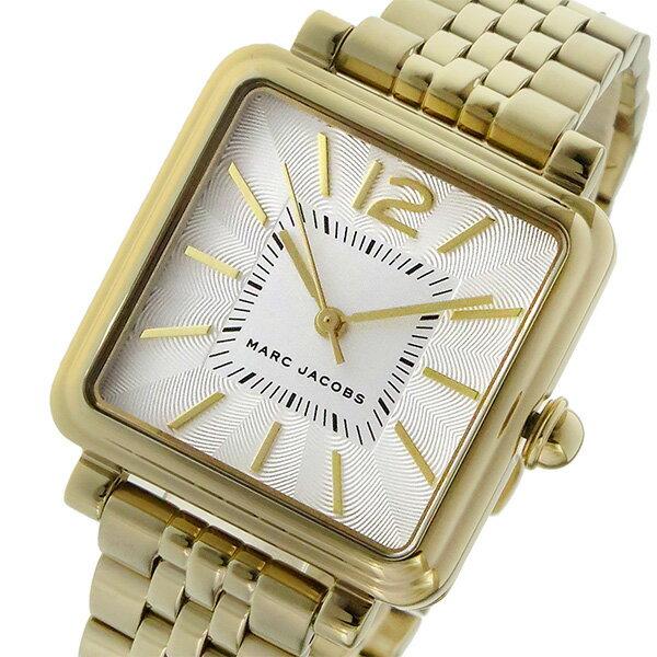 マーク ジェイコブス MARC JACOBS ヴィク 30 VIC30 クオーツ レディース 腕時計 MJ3462 シルバー【送料無料】