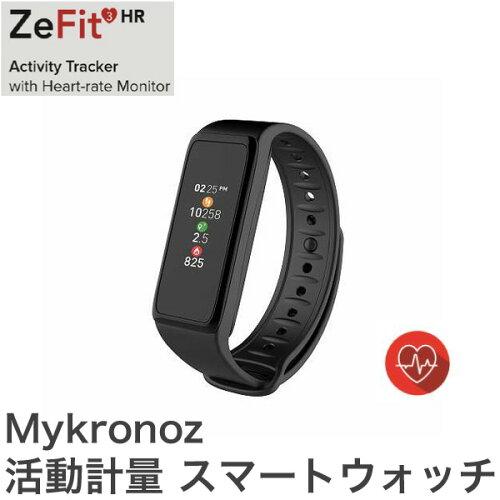 Mykronoz マイクロノス スマートウォッチ ZEFIT3HR KRZEFIT3HR-BLACK ブラック【...