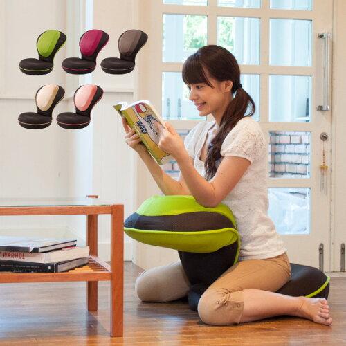 座椅子 リクライニング 背筋がGUUUN 美姿勢座椅子 0070-2058