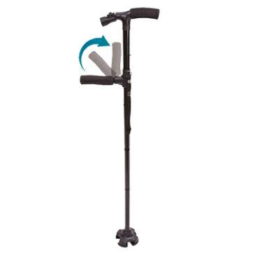 ケーンセーフ プラス Cane Safe Plus 折りたたみ杖 伸縮自在 軽量 ケンセーフ LEDライト搭載 手を離しても倒れない杖【あす楽対応】【ポイント10倍】【送料無料】【smtb-f】