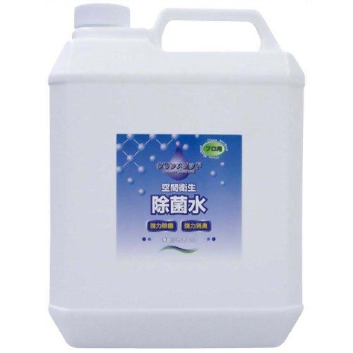 空間衛生除菌水 クリンメソッド 2倍濃縮 4L エム・アイ・シー