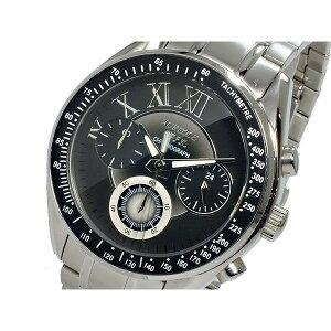 オレオールAUREOLEクオーツメンズクロノグラフ腕時計時計SW-582M-4【ポイント10倍】【_包装】