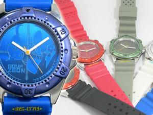 機動戦士ガンダム 腕時計 モビルスーツウォッチ 5本セット【ポイント10倍】