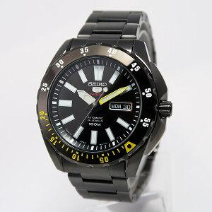 セイコーファイブSEIKO5スポーツ自動巻きメンズ腕時計時計SRP363J1ブラック【ポイント10倍】【_包装】