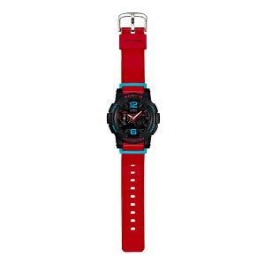 カシオCASIOベビーGBABY-GGライドレディース腕時計時計BGA-180-4Bレッド【ポイント10倍】【_包装】