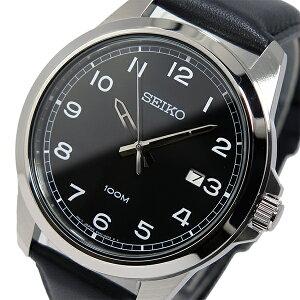 セイコーSEIKOクオーツメンズ腕時計時計SUR159P1ブラック【ポイント10倍】【_包装】