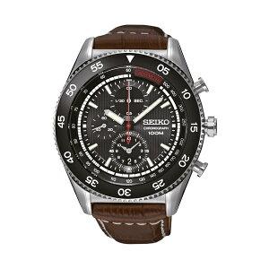 セイコーSEIKOクオーツ高速クロノメンズ腕時計時計SNDG57P2ブラウン【ポイント10倍】【_包装】