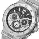 ブルガリ ディアゴノ カリブロ304 クロノ 自動巻き メンズ 腕時計 DG42BSSDCH【送料無料】【ポイント10倍】