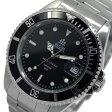 エルジン ELGIN 自動巻き メンズ 腕時計 時計 FK1405S-B ブラック【ポイント10倍】【楽ギフ_包装】