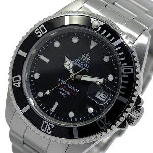 エルジンELGIN自動巻きメンズ腕時計時計FK1405S-Bブラック【ポイント10倍】【_包装】