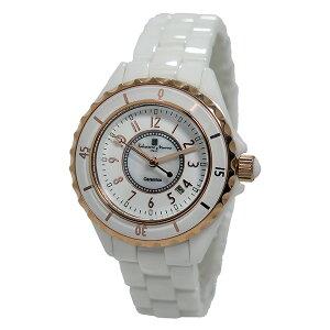 サルバトーレマーラクオーツレディース腕時計時計SM15151-PGWHAホワイト/ローズ【ポイント10倍】【_包装】