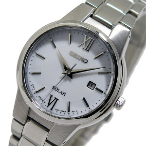 セイコーSEIKOソーラークオーツレディース腕時計時計SUT227Pホワイト【ポイント10倍】【_包装】
