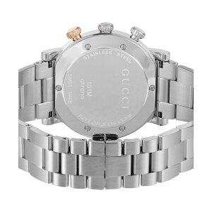 グッチGUCCIGクロノクオーツメンズ腕時計YA101362ブラック【送料無料】【ポイント10倍】【_包装】