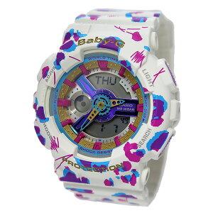 カシオベビーGフラワーレオパードシリーズレディース腕時計時計BA-110FL-7A【ポイント10倍】【_包装】