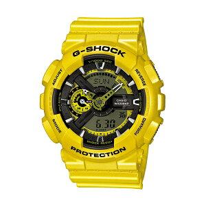 カシオCASIOGショックG-SHOCKメンズ腕時計時計GA-110NM-9Aイエロー【ポイント10倍】【_包装】