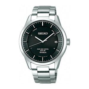 セイコーSEIKOスピリットソーラーメンズ腕時計SBTM211ブラック国内正規【送料無料】【ポイント10倍】【_包装】