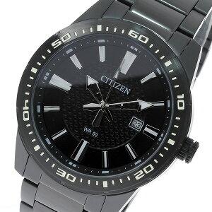 シチズンCITIZENクオーツメンズ腕時計時計BI1065-59Eブラック【ポイント10倍】【_包装】