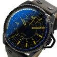 ディーゼル DIESEL ロールケージ クオーツ メンズ 腕時計 時計 DZ1718 ブラック【ポイント10倍】【楽ギフ_包装】