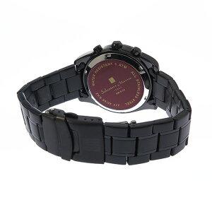 サルバトーレマーラソーラークロノメンズ腕時計時計SM15116-BKBKSVブラック【ポイント10倍】【_包装】