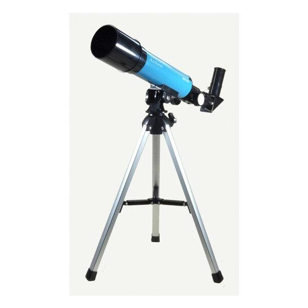 ミザール MIZAR 天体望遠鏡 天体観測 屈折式 光学機器 AR-50BU ブルー