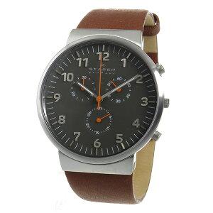 スカーゲンSKAGENアンカークロノクオーツメンズ腕時計時計SKW6099グレー【ポイント10倍】【_包装】