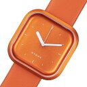 ピーオーエス POS ヒュッゲ バリ Vari Line クオーツ 腕時計 時計 HGE020069 オレンジ【ポイント10倍】
