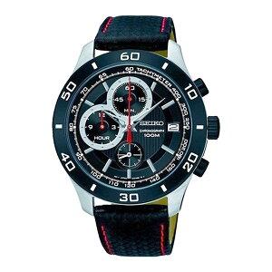 セイコーSEIKOクロノクオーツメンズ腕時計時計SSB193P1ブラック【ポイント10倍】【_包装】
