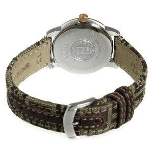 フェンディラウンドクラシコクオーツレディース腕時計F218242DFパール【送料無料】【ポイント10倍】【_包装】