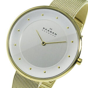 スカーゲンSKAGENクオーツレディース腕時計時計SKW2141シルバー【ポイント10倍】【_包装】
