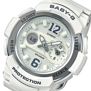 カシオベビーGアナデジクオーツレディース腕時計時計BGA-210-7B4ホワイト【ポイント10倍】【_包装】