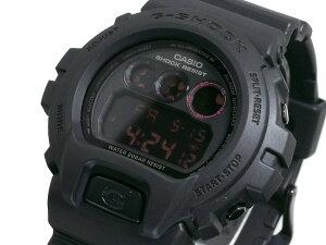 カシオGショック腕時計マットブラックレッドアイDW6900MS-1【28%OFF】