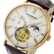 ジョンハリソン JOHN HARRISON 自動巻き メンズ 腕時計 時計 JH-039PW ホワイト【ポイント10倍】【楽ギフ_包装】