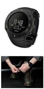 スントコアSUUNTOCOREアルティメットブラックULTIMATEBLACKクオーツメンズ腕時計時計SS021371000【ポイント10倍】【_包装】