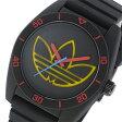アディダス ADIDAS サンティアゴ SANTIAGO クオーツ メンズ 腕時計 時計 ADH3167 ブラック【ポイント10倍】【楽ギフ_包装】
