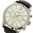 フォッシル FOSSIL クロノ クオーツ メンズ 腕時計 時計 BQ1129 アイボリー【ポイント10倍】【楽ギフ_包装】