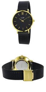 クルースCLUSEミニュイメッシュベルト33mmレディース腕時計時計CL30026ブラック/ブラック【ポイント10倍】【_包装】