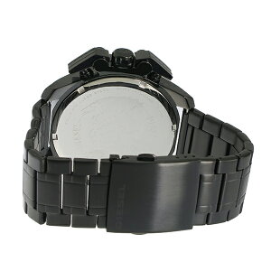 ディーゼルDIESELアイアンサイドIRONSIDEクオーツクロノメンズ腕時計時計DZ4362ブラック【ポイント10倍】【_包装】