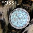 フォッシル FOSSIL クオーツ レディース 腕時計 時計 ES4012 ライトブルー【ポイント10倍】【楽ギフ_包装】